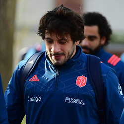 Remi Lamerat of France during the training session of  the France rugby team at Centre National de Rugby on March 14, 2017 in Marcoussis, France. (Photo by Dave Winter/Icon Sport)