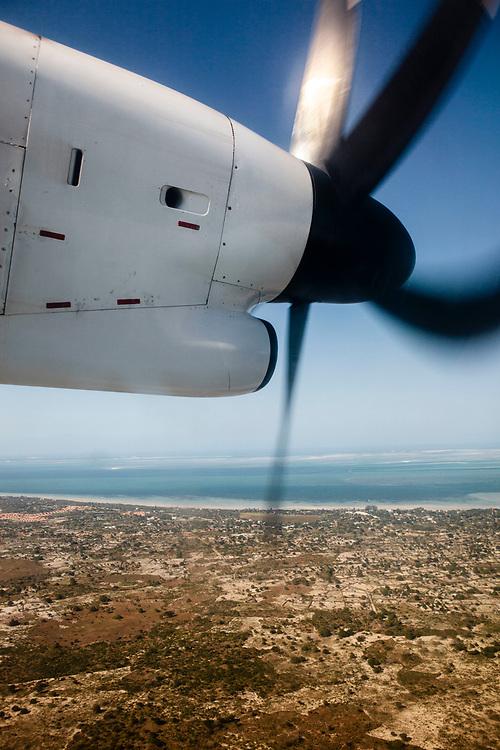 Flying to Vilanculos for Bazaruto Island
