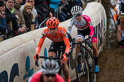 KAY Anna (GBR) during Women Elite race, 2019 UCI Cyclo-cross World Cup Heusden-Zolder, Belgium, 26 December 2019. <br /> <br /> Photo by Pim Nijland / PelotonPhotos.com <br /> <br /> All photos usage must carry mandatory copyright credit (Peloton Photos | Pim Nijland)