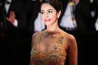 Actress Malika Sherawat attending the gala screening of The Great Gatsby at the Cannes Film Festival on 15th May 2013, Cannes, France.