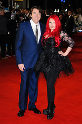 Jonathon Ross and Jane Goldman attends The Woman in Black - World Premiere held at the Royal Festival Hall, London, Tuesday January 25, 2012. Photo By i-Images