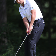 Jason Day, Australia, in action during the third round of the Travelers Championship at the TPC River Highlands, Cromwell, Connecticut, USA. 21st June 2014. Photo Tim Clayton