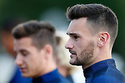 Hugo Lloris during the training of the team of France before the FIFA World Cup qualifying football match between Bulgaria and France, on October 2, 2017 in Clairfontaine, France - Photo Benjamin Cremel / ProSportsImages / DPPI
