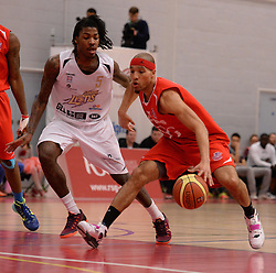 Greg Streete of Bristol Flyers - Photo mandatory by-line: Alex James/JMP - Mobile: 07966 386802 - 28/03/2015 - SPORT - Basketball - Bristol - SGS Wise Campus - Bristol Flyers v London Lions - British Basketball League