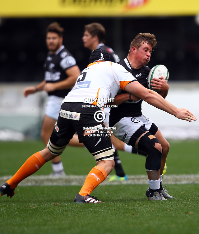 DURBAN, SOUTH AFRICA - SEPTEMBER 10: Andrew du Plessis of the Cell C Sharks Under 21's during the Currie Cup U21 match between the Sharks and Free State at Growthpoint Kings Park on September 10, 2016 in Durban, South Africa. (Photo by Steve Haag/Gallo Images)