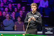 Jack Lisowski is hoping to lift the Stephen Hendry Trophy tonight at the World Snooker 19.com Scottish Open Final Mark Selby vs Jack Lisowski at the Emirates Arena, Glasgow, Scotland on 15 December 2019.