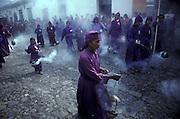 Holy Week processions, Antigua, Guatemala