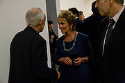 Leon Kossoff; Paula Rego, Francis Bacon opening private view and dinner. Tate Britain. 8 September 2008 *** Local Caption *** -DO NOT ARCHIVE-© Copyright Photograph by Dafydd Jones. 248 Clapham Rd. London SW9 0PZ. Tel 0207 820 0771. www.dafjones.com.