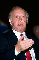 Arthur Scargill President National Union of Mineworkers .