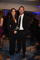 Andrea McLean and Nick Feeney at the Chain of Hope Gala Ball held at the Grosvenor House Hotel, Park Lane, London England. 17 November 2017.<br /> Photo by Dominic O'Neill/SilverHub 0203 174 1069 sales@silverhubmedia.com