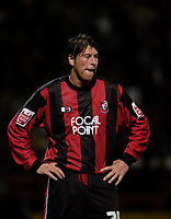 Photo: Leigh Quinnell.<br /> AFC Bournemouth v Bristol City. Coca Cola League 1. 26/09/2006. Former England player Darren Anderton unhappy with his new team Bournemouths result.