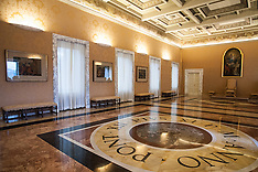 Italy - Pope's Private Apartment Open To Tourists As Museum - 21 Oct 2016