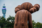 Small Lie by Kaws, The Sculpture Park - Frieze London and Frieze Masters 2014, Regents Park, London, 14 Oct 2014.