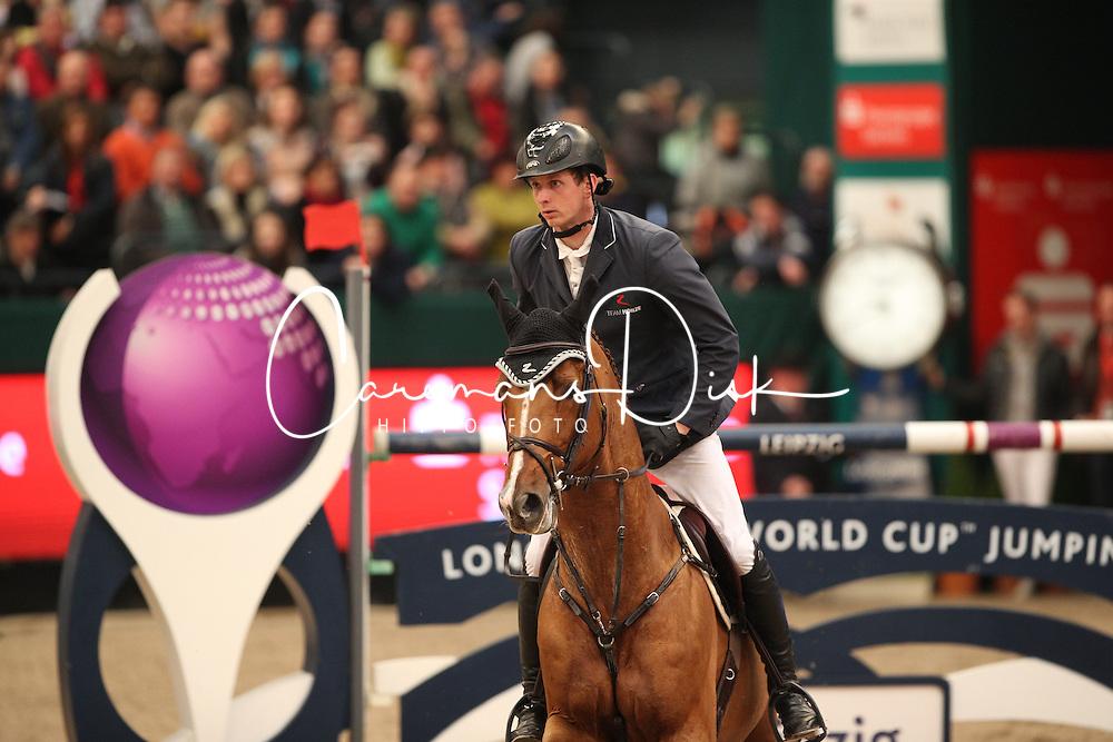 Hassmann Felix, (GER), Horse Gym's Balzaci<br /> Longines FEI World Cup<br /> CSIO Leipzig 2016<br /> © Hippo Foto - Stefan Lafrentz
