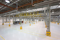 Washington Metropolinan Area Transit Authority Bus Paint Facility Interior image by Jeffrey Sauers of Commercial Photographics