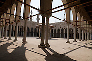 Egypt. Cairo : SULTAN AL Muyyad - Mu'ayyad - mosque -inside- in Bab Zuwayla area. old islamic cairo  +