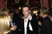 "Jonathan Rhys-Meyers. The after show party following the UK Premiere of ""Match Point,"" at Asprey, New Bond st. London.   December 18 2005 ,  ONE TIME USE ONLY - DO NOT ARCHIVE  © Copyright Photograph by Dafydd Jones 66 Stockwell Park Rd. London SW9 0DA Tel 020 7733 0108 www.dafjones.com"