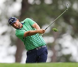 April 7, 2018 - Augusta, GA, USA - Marc Leishman hits from the 4th tee during the third round of the Masters Tournament on Saturday, April 7, 2018, at Augusta National Golf Club in Augusta, Ga. (Credit Image: © Curtis Compton/TNS via ZUMA Wire)