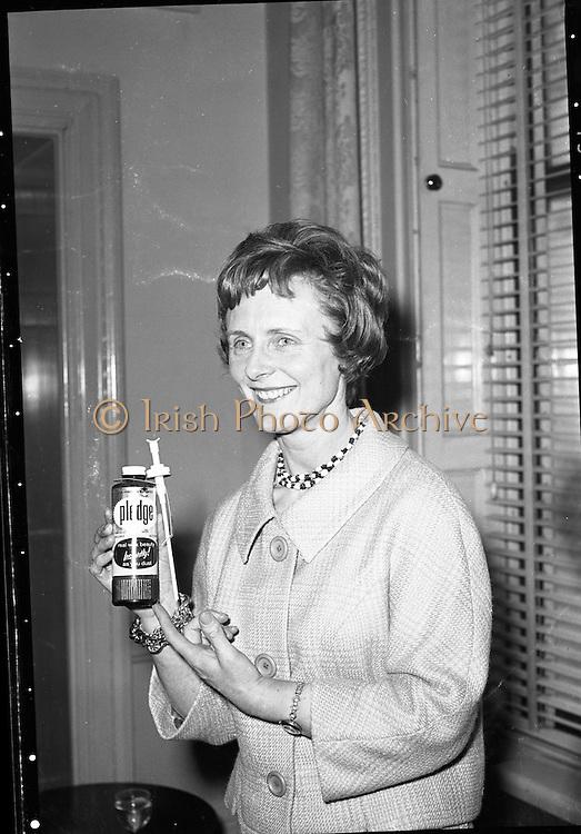"""Pledge"" Reception at Shelbourne Hotel.<br /> 20.04.1961"
