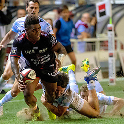 Josua Tuisova of Toulon during Top 14 match between Toulon and Racing 92 on August 25, 2018 in Toulon, France. (Photo by Henri/Icon Sport)