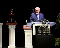 CHL President David Branch at the 2013-14 Canadian Hockey League Awards Ceremony at the Grand Theatre in London, ON on Saturday May 24, 2014. Photo by Aaron Bell/CHL Images
