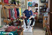 Fayetteville, Arkansas:  Mo Elliott of Fayettechill in Fayetteville, AR shot for Fayetteville A&P and Sells Agency.<br /> <br /> Photography by Wesley Hitt
