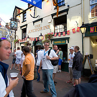 Isle of Wight, Cowes Week 2007 Anchor Inn Photographs of the Isle of Wight by photographer Patrick Eden photography photograph canvas canvases