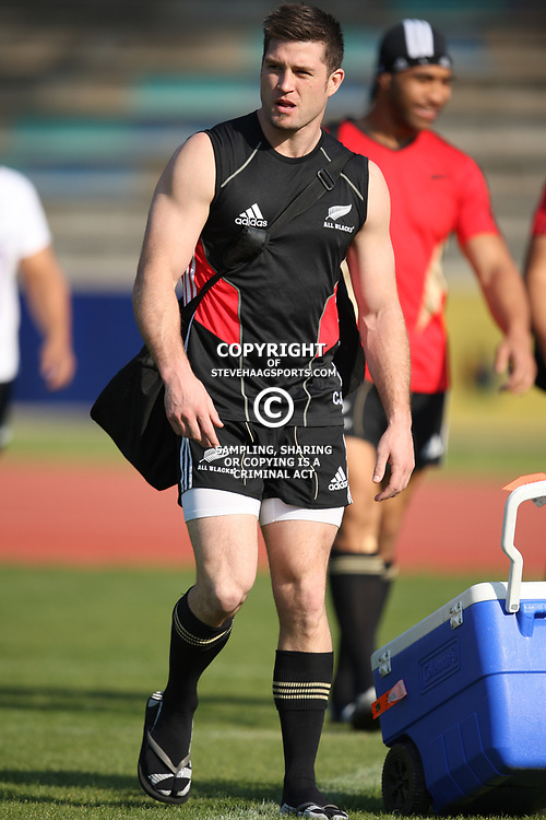 PORT ELIZABETH, SOUTH AFRICA - AUGUST 18, Cory Jane during the New Zealand national rugby team training session at Xerox Arena on August 18, 2011 in Port Elizabeth, South Africa<br /> Photo by Steve Haag / Gallo Images