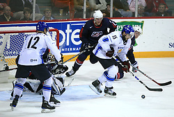 Tuomo Ruutu of Finland at play-off round quarterfinals ice-hockey game USA  vs Finland at IIHF WC 2008 in Halifax,  on May 14, 2008 in Metro Center, Halifax, Nova Scotia,Canada. Win of Finland 3 : 2. (Photo by Vid Ponikvar / Sportal Images)
