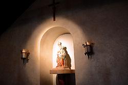 Madonna and Child, Ancient Spanish Shrine of Nuestra Senora De La Leche