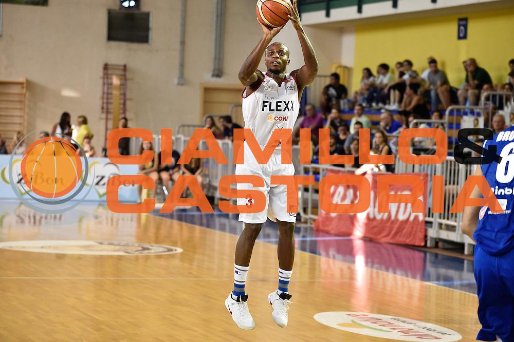 Cournooh David Reginald<br /> Germani Basket Brescia - The Flexx Pistoia<br /> Lega Basket Serie A 2016/2017<br /> Parma 09/09/2016<br /> Foto Ciamillo-Castoria