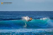 Surf action at Poipu Beach in Kauai, Hawaii, USA