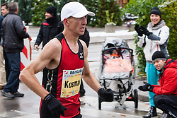 Anton Kosmac of Slovenia at 17th Ljubljana Marathon 2012 on October 28, 2012 in Ljubljana, Slovenia. (Photo By Matic Klansek Velej / Sportida.com)
