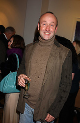 SEBASTIAN SAINSBURY at an exhibition of art by Jeffrey Kroll entitled Imirage held at the Arndean Gallery, Cork Street, London on 19th October 2005.<br /><br />NON EXCLUSIVE - WORLD RIGHTS