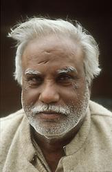 Portrait of elderly man,