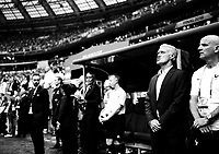 """""""The Final Face""""<br /> A focused Didier Deschamps seconds before kick off in the FIFA World Cup Final 2018.<br /> Foto: Svein Ove Ekornesvåg"""