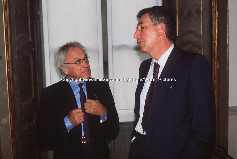 Roberto Cerati, Mario Lavagetto<br /> <br /> <br /> 05/11/2012<br /> Copyright Giovanni Giovannetti/Effigie/Writer Pictures<br /> NO ITALY, NO AGENCY SALES