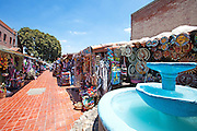 Olvera Street Downtown Los Angeles California