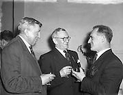 "16/12/1952<br /> 12/16/1952<br /> 16 December 1952<br /> ""The Bohemians"" Music Club Jubilee Dinner in Jury's Hotel, Dublin."