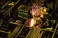 Annual report photography at a pipe manufacturer in Sealy, Texas