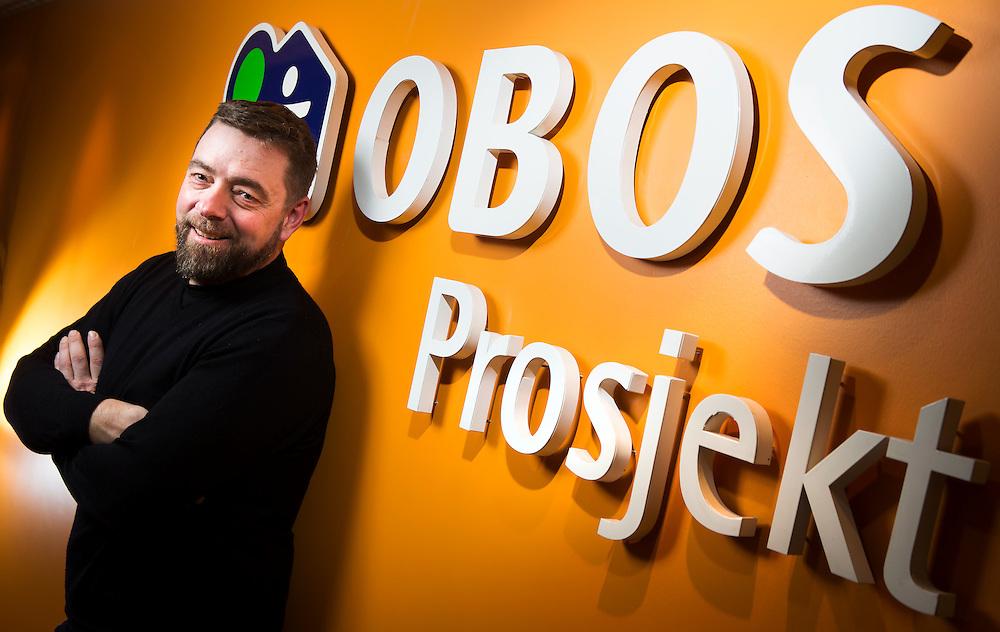 OSLO 2015-03-20: Gruppeleder for VVS, våtrom og energi i OBOS Prosjekt, Vidar Hellstrand. FOTO:WERNERJUVIK