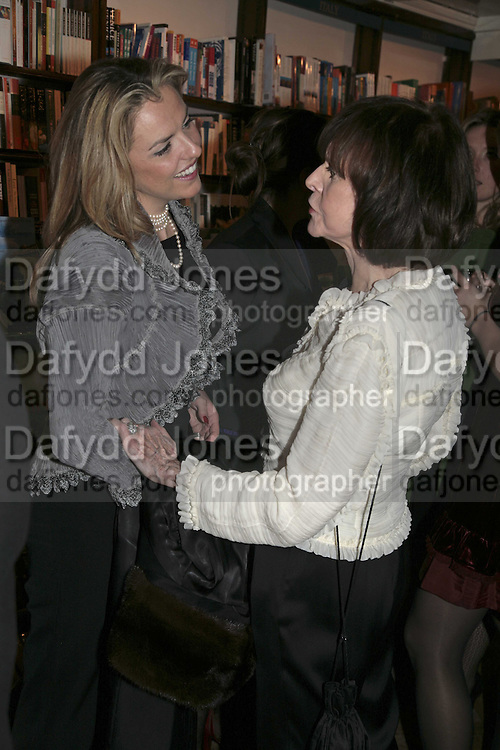 Paula White and Marguerite Littman, Book launch of Pretty Things by Liz Goldwyn at Daunt <br />Books, Marylebone High Street. London 30 November 2006.   ONE TIME USE ONLY - DO NOT ARCHIVE  &copy; Copyright Photograph by Dafydd Jones 248 CLAPHAM PARK RD. LONDON SW90PZ.  Tel 020 7733 0108 www.dafjones.com