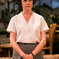 The Chalk Garden by Enid Bagnold;<br /> Directed by Alan Strachan;<br /> Amanda Root (as Miss Madrigal);<br /> Chichester Festival Theatre, Chichester.<br /> 30 May 2018.<br /> © Pete Jones<br /> pete@pjproductions.co.uk
