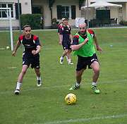 Gary Harkins and Nick Ross  - Day 4 of Dundee FC pre-season training camp in Obertraun, Austria<br /> <br />  - &copy; David Young - www.davidyoungphoto.co.uk - email: davidyoungphoto@gmail.com