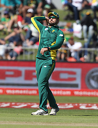 Riley Rosssouw of South Africa during the 3rd ODI match between South Africa and Australia held at Kingsmead Stadium in Durban, Kwazulu Natal, South Africa on the 5th October  2016<br /> <br /> Photo by: Steve Haag/ RealTime Images