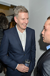 PATRICK KIELTY at the London premier of Being AP held at Altitude 360, Millbank Tower, 30 Millbank, London on 23rd November 2015.
