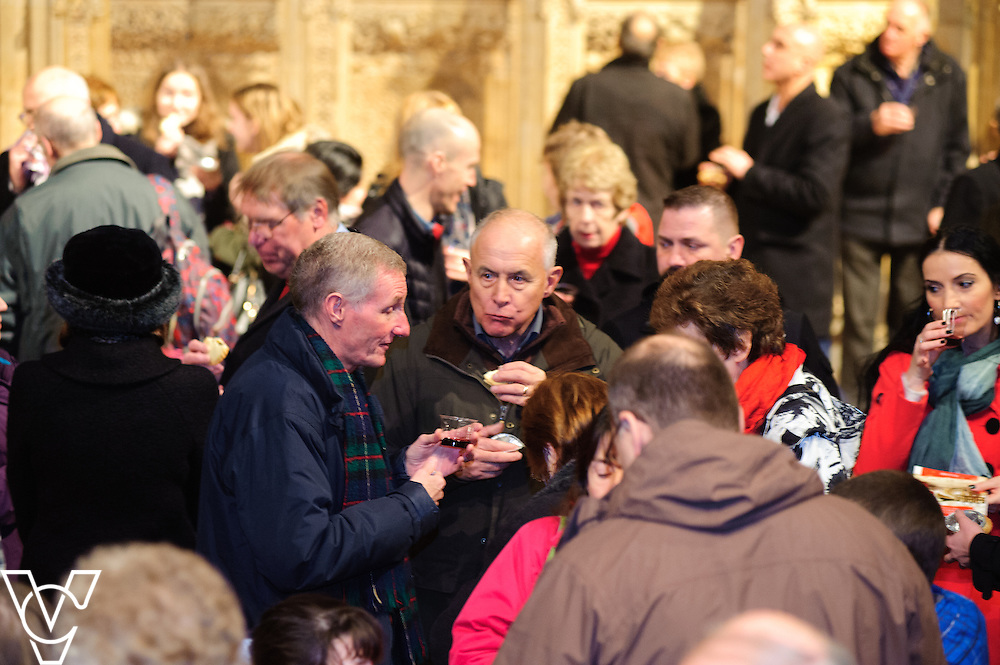 Lincolnshire Co-operative Carol Concert at Lincoln Cathedral.<br /> <br /> Date: December 14, 2015<br /> Picture: Chris Vaughan/Chris Vaughan Photography