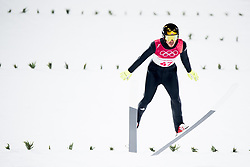 February 8, 2018 - Pyeongchang, SOUTH KOREA - 180208 Andreas Stjernen of Norway competes during the Men's Normal Hill Individual Qualification ahead of the 2018 Winter Olympics on February 8, 2018 in Pyeongchang..Photo: Jon Olav Nesvold / BILDBYRÃ…N / kod JE / 160146 (Credit Image: © Jon Olav Nesvold/Bildbyran via ZUMA Press)