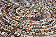 An aerial view of Sun City, Arizona, seen December 15, 2009.