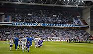 Spillerme går på banen til kampen i UEFA Europa League mellem FC København og Dynamo Kiev den 7. november 2019 i Telia Parken (Foto: Claus Birch).